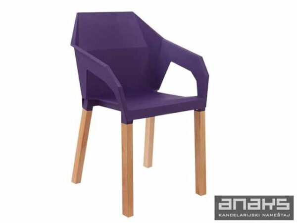 anaks-konferencijska-stolica-origami-ljubicasta