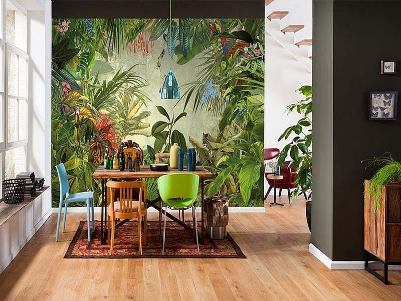 trpezarije u tropskom stilu